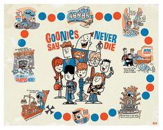 Goonies Remixed Poster