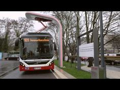 Premiere for Volvo's Electric Hybrid Bus in commercial service