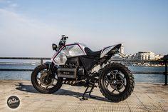"""BMW k100 """" SIlver GILLS"""" realizzazione by Shaka Garage Bari Special su base Bmw k100 del 1985, molteplici modifiche effettuate su questa base, un design molt..."""