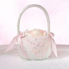 Cheap Flower Girl Basket - Ideas for Wedding Flower Baskets -