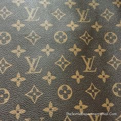 f6d284bc98d3 Louis Vuitton LV Leather Vinyl Louis Vuitton LV Fabric Material By The Metre  By The Yard FREE Same Day Shipping