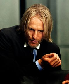 Perfect Actor for the character of Haymitch