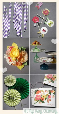 I love the flowers and fan ideas for an upcoming shower I am attending.