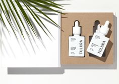 Brand identity and packaging design for a New York-based organic skincare company, Tulura. For brand identity or packaging enquiries please email us at workwith Luxury Packaging, Beauty Packaging, Packaging Design, Packaging Ideas, Coffee Packaging, Bottle Packaging, Product Packaging, Food Packaging, Natural Hair Mask