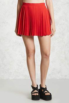 Pleated Mini Skirt | Forever21