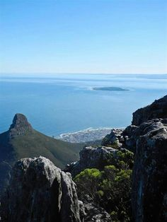 Cape Town RSA...view from Table Mountain:.