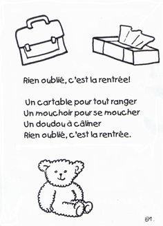 """Résultat de recherche d'images pour """"image maternelle c'est la rentrée"""""""