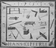 The table top of the Guild table by Hans Kipferly. Image from Mobel Europas 2 - renaissance - Manierismus by F. Windisch-Greatz.