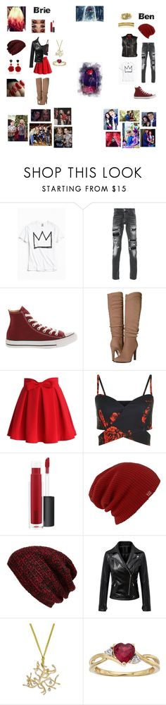 """~Brie and Ben's Inspired Outfits #1 RTD~"" by were-taking-over ❤ liked on Polyvore featuring Disney, Urban Outfitters, Philipp Plein, Converse, Sigerson Morrison, Chicwish, MAC Cosmetics, Burton, King & Fifth Supply Co. and Bahina"