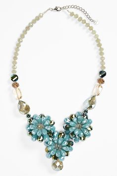 Nakamol Design Floral Statement Necklace by Nakamol Design on @nordstrom_rack