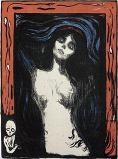 Edvard Munch, Madonna Poster Husets Galleri by Kirsten G. Kyø  http://www.worldcat.org Husets Galleri, Aalborg