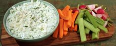 Lemon Cucumber Yogurt Dip Recipe by Clinton Kelly | The Chew - ABC.com