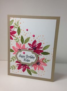 I wasn't quite sure where to begin with this pretty set called Avant Garden. It was FREE in the Sale-a-Brations catalog. All you have to d...