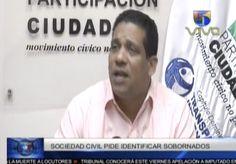 Sociedad Civil Dominicana Exige Al Gobierno Revelar La Identidad  De Los Corruptos