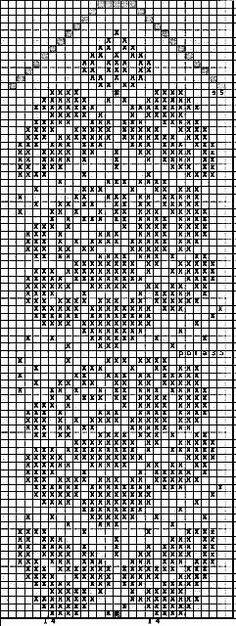 @nika Crochet Mittens Free Pattern, Filet Crochet Charts, Knit Mittens, Crochet Motif, Knitting Socks, Crochet Doilies, Crochet Curtains, Crochet Tablecloth, Tapestry Crochet