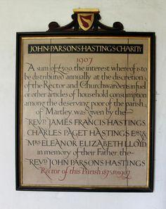 Memorials & Inscriptions | MacDonald Gill