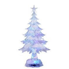 Kurt S. Adler H8214 11 in. Battery-Operated LED Color-Changing Christmas Tree Tablepiece => Awesome product. Click the image : Garden Christmas Decorations