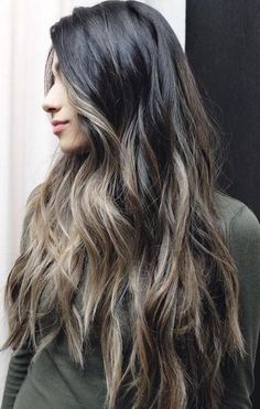 Best Hair Color Ideas 2017 / 2018 ashy brown balayage