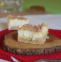 Sugar Cookie Cheesecake Bars!!