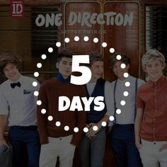 5 DAYS UNTIL LITTLE THINGS. I CAN'T EVEN I AM UNABLE TO EVEN I CANNOT EVEN