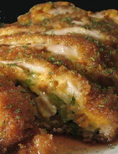 STUFFED CHICKEN BREAST-Pechugas de Pollo Rellenas - Recetas de Cocina Tipicas Bajas Calorias