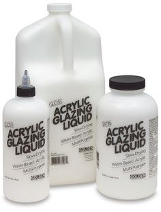 I can't LIVE without this!    I think I use my glazing liquid daily!