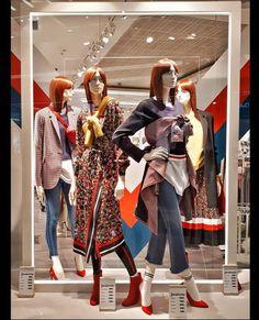 Breathtaking 25 ideas & design window display home creative retail stores https:// Window Displays, Fashion Window Display, Display Windows, Retail Displays, Shop Displays, Mannequin Display, Clothing Displays, Store Windows, Display Homes