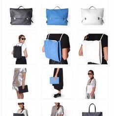 Hello @lovli! Da oggi siamo su #lovli con un prezzo speciale! http://lovli.it/tamararoso.html  #bags #bag #leather #backpack #pochette #handmade #madeinitaly #crafted #black #white #cobalt