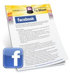 Facebook for Marketers Tip Sheet [FREE Download] | Helpful guide for marketers who are new at leveraging #Facebook for marketing.