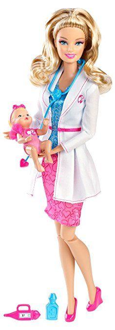Mattel X9075 Barbie I Can Be... Pediatra