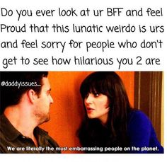 My BFF& will forever be my BFF& bc those cunts know way too much n als. Funny Best Friend Memes, Really Funny Memes, Stupid Funny Memes, Funny Relatable Memes, Funny Quotes, Funny Friends, Usmc Quotes, Quotes Quotes, Quotes For Best Friends
