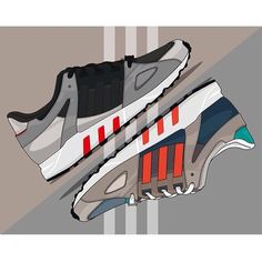 #sneakerart #artist @f.c.a.k