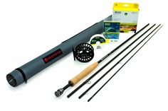 Redington Hydrogen 486-4 Fly Rod Outfit (4wt, 8'6', 4pc) w/Redington ZERO 4/5 Fly Reel * You can find out more details at the link of the image.