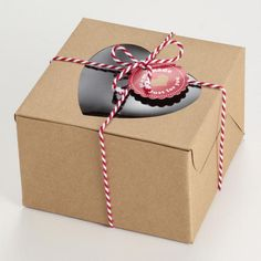 Brown paper packages tied up with string <3  Heart Confectionery Boxes, Set of 6 @Carla Costephens Plus World Market