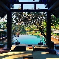 Living the life of luxury at the Four Seasons Chiang Mai. Photo courtesy of thesmartflyer on Instagram.