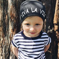 All of our beanies are now only $10!! ||Viva La Vida beanie|| Find them at http://ift.tt/1nr0X4Q #ConsciousKids #VivaLaVida