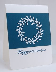 Winter Blues by mamamostamps - Cards and Paper Crafts at Splitcoaststampers