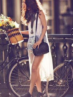 ☀ Very casual boho outfit. #bohemian #indie