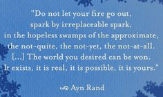 Ayn Rand. #litspo