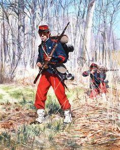 United States Civil War,Union Army, Regiment New York State Militia Military Art, Military History, Military Uniforms, Us History, American History, Civil War Art, Union Army, War Image, America Civil War
