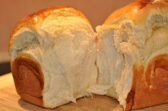 Hokkaido Japanese milk bread or extra soft brioche Cooking Chef, Cooking Time, Cooking Recipes, Japanese Milk Bread, Bread And Pastries, Churros, I Love Food, No Cook Meals, Sweet Recipes