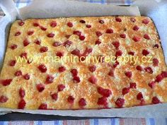 Jogurtová bublanina Dessert, Macaroni And Cheese, Yummy Food, Bread, Cooking, Ethnic Recipes, Food Ideas, Cakes, Mac Cheese