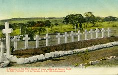 The Graveyard Detective: Boer War Grave Sites     Caesars Camp
