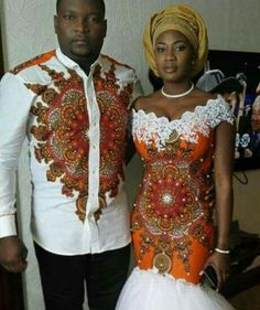 African wedding dress /prom dress /mens by African Wedding Dress, African Print Dresses, African Print Fashion, Africa Fashion, African Fashion Dresses, African Dress, Ghanaian Fashion, African Weddings, African Prints