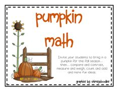 Pumpkin Math.