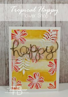 Tinkerin In Ink with Tanya: Stamp Review Crew: Flower Shop Edition