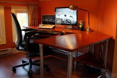 DIY Ergonomic Computer Desk - Revisited