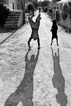 Schattenspiel 03 - Bild & Foto von Jürgen W2 aus Menschen