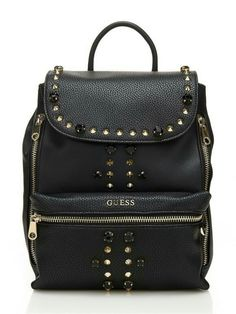 ALANIS BACKPACK WITH STUDS - Guess