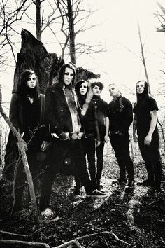 Motionless In White, I love these guys! They are so nice and funny! <3